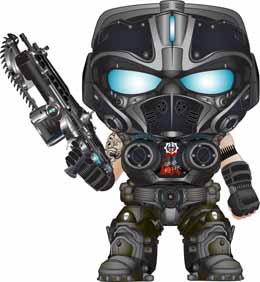 GEARS OF WAR FUNKO POP! GAMES CLAYTON CARMINE