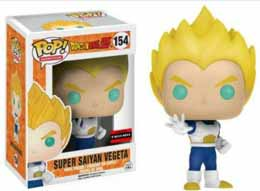 DRAGON BALL Z FUNKO POP SUPER SAIYAN VEGETA