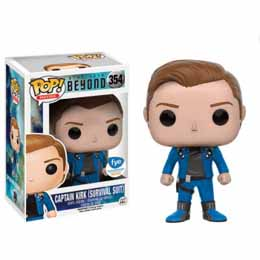Photo du produit STAR TREK BEYOND POP! VINYL FIGURINE KIRK (SURVIVAL SUIT)