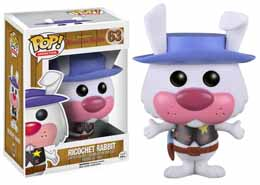 FUNKO POP HANNA BARBERA RICOCHET RABBIT FLOCKED LIMITED EDITION