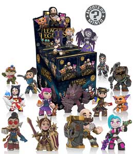 MYSTERY MINIS LEAGUE OF LEGENDS 12 FIGURINES