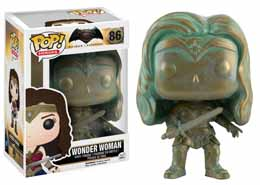 FUNKO POP BRONZED PATINA WONDER WOMAN LIMITED EDITION