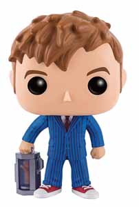DOCTOR WHO FUNKO POP 10TH DOCTOR WITH HAND