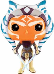 FUNKO POP STAR WARS REBELS BOBBLE HEAD AHSOKA