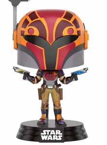 FUNKO POP STAR WARS REBELS SABINE IN HELMET