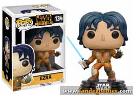 Photo du produit FUNKO POP STAR WARS REBELS EZRA