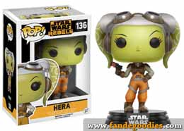 FUNKO POP STAR WARS REBELS HERA