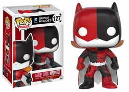 DC COMICS FUNKO POP BATGIRL AS HARLEY QUINN IMPOPSTER