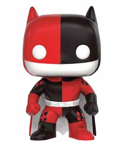 DC COMICS FUNKO POP BATMAN AS HARLEY QUINN IMPOPSTER