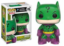 DC COMICS FUNKO POP BATMAN AS THE RIDDLER IMPOPSTER