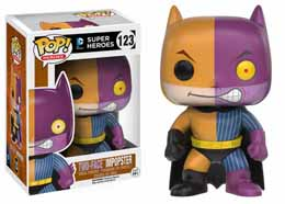 DC COMICS FUNKO POP BATMAN AS TWO-FACE IMPOPSTER