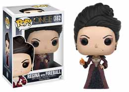 ONCE UPON A TIME FUNKO POP REGINA WITH FIREBALL