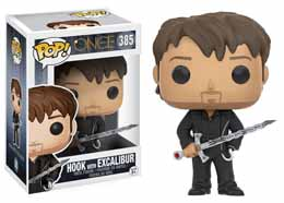 Photo du produit ONCE UPON A TIME FUNKO POP HOOK WITH EXCALIBUR