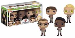 SOS FANTOMES 2016 PACK 4 POP GHOSTBUSTERS 2016