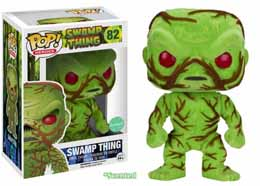 FUNKO POP SWAMP THING FLOCKED & SCENTED LIMITED EDITION
