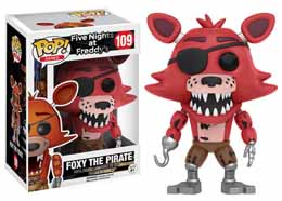 FUNKO POP FOXY THE PIRATE FIVE NIGHTS AT FREDDY'S