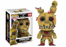 FUNKO POP SPRINGTRAP FIVE NIGHTS AT FREDDY'S