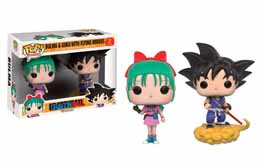 DRAGONBALL Z PACK 2 POP GOKU & BULMA