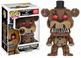 FUNKO POP NIGHTMARE FREDDY FIVE NIGHTS AT FREDDY'S