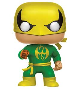 FIGURINE FUNKO POP MARVEL IRON FIST - CLASSIC SUIT
