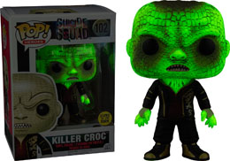SUICIDE SQUAD FUNKO POP KILLER CROC GLOW IN THE DARK EDITION LIMITEE
