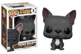 FIGURINE FUNKO POP PETS FRENCH BULLDOG (GREY)