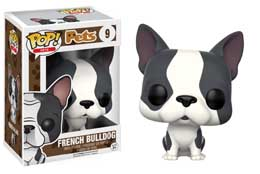FIGURINE FUNKO POP PETS FRENCH BULLDOG (GREY & WHITE)