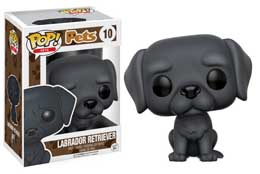 FIGURINE FUNKO POP PETS LABRADOR RETRIEVER (BLACK)