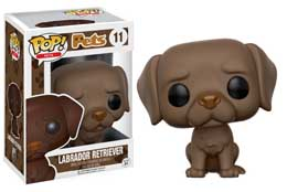 FIGURINE FUNKO POP PETS LABRADOR RETRIEVER (CHOCOLATE)