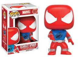 Photo du produit MARVEL COMICS POP! VINYL FIGURINE SCARLET SPIDER