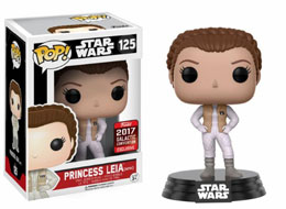 STAR WARS CELEBRATION FUNKO POP HOTH LEIA SWC