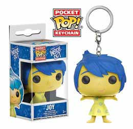 PORTE CLE FUNKO POCKET POP INSIDE OUT JOY