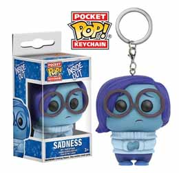 PORTE CLE FUNKO POCKET POP INSIDE OUT SADNESS