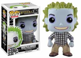 FIGURINE FUNKO POP BEETLEJUICE CHECK SHIRT