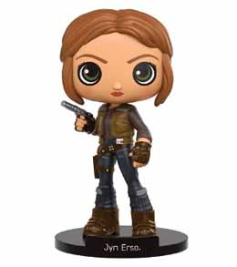 STAR WARS FUNKO WACKY WOBBLER ROGUE ONE JYN ERSO