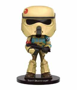 STAR WARS FUNKO WACKY WOBBLER ROGUE ONE SCARIF STORMTROOPER