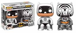 FUNKO POP PACK ZEBRA & BULLSEYE BATMAN