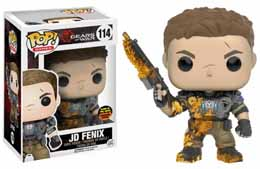 GEARS OF WAR FUNKO POP JD FENIX GLOW IN THE DARK LIMITED EDITION