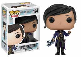 DISHONORED 2 FUNKO POP UNMASKED EMILY 9 CM