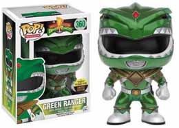 POWER RANGERS FUNKO POP GREEN RANGER METALLIC NEW YORK COMIC CON EXCLUSIVES (Boite un peu abimée)