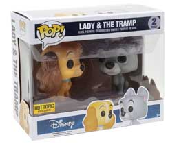 FUNKO POP LA BELLE ET LE CLOCHARD