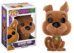 SCOOBY DOO POP! ANIMATION VINYL FIGURINE SCOOBY-DOO (FLOCKED)