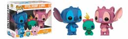 LILO & STITCH PACK 3 FIGURINES POP! VINYL STITCH, SCRUMP & ANGEL