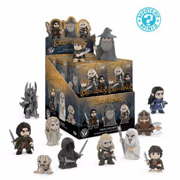 PACK DE 12 FIGURINES MYSTERY MINI LORD OF THE RINGS + PRESENTOIR