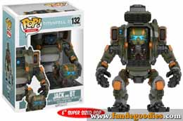 FUNKO POP TITANFALL JACK AND BT & BUDDY