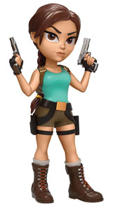 TOMB RAIDER ROCK CANDY VINYL FIGURINE LARA CROFT 13 CM