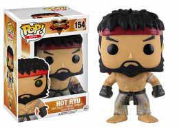 FUNKO POP STREET FIGHTER HOT RYU