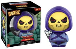 MASTERS OF THE UNIVERSE FIGURINE DORBZ SKELETOR
