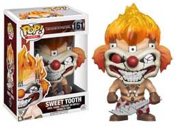 TWISTED METAL FIGURINE POP! GAMES VINYL SWEET TOOTH