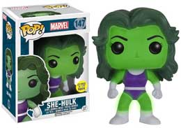 FUNKO POP EXCLUSIVE MARVEL SHE-HULK